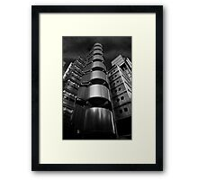 Gotham/London Framed Print