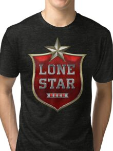 Lone Star Beer Tri-blend T-Shirt