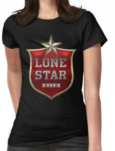 Lone Star Beer Womens Fitted T-Shirt
