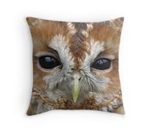 Female Tawny Owl Throw Pillow
