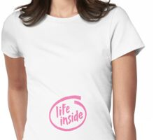 life inside - female Womens Fitted T-Shirt