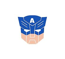 Captain America in Transformers by micromegas