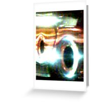 Black Holes Greeting Card