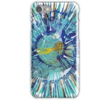 Abstract expressionism painting - Gold Fish iPhone Case/Skin