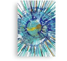 Abstract expressionism painting - Gold Fish Canvas Print
