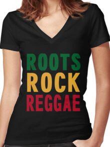 RRR Women's Fitted V-Neck T-Shirt