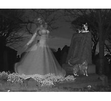 At the stroke of midnight .. ghosts Photographic Print