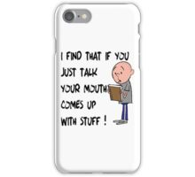 Karl Pilkington - Quote iPhone Case/Skin