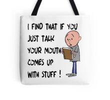 Karl Pilkington - Quote Tote Bag