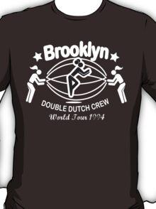 BROOKLYN DOUBLE DUTCH CREW**WORLD TOUR 1994 T-Shirt