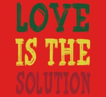 LOVE IS THE SOLUTION One Piece - Long Sleeve