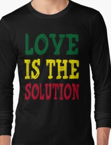 LOVE IS THE SOLUTION Long Sleeve T-Shirt