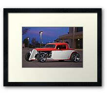 1933 Ford 3 Window Coupe 2 Framed Print