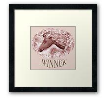 Winner 3 Framed Print