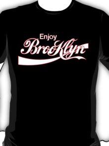 ENJOY BROOKLYN*red/wht T-Shirt