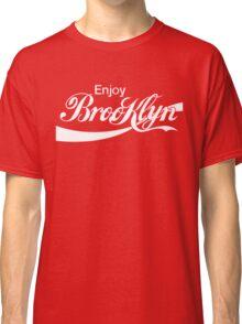 ENJOY BROOKLYN*red/wht Classic T-Shirt