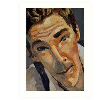 Benedict - Cumberbatch  Art Print