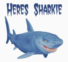 Heres Sharkie Kids Clothes