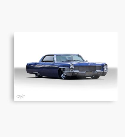 1965 Cadillac Coupe DeVille Custom 'Studio' 1 Metal Print