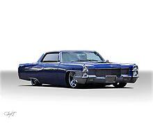 1965 Cadillac Coupe DeVille Custom 'Studio' 1 Photographic Print