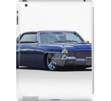1965 Cadillac Coupe DeVille Custom 'Studio' 1 iPad Case/Skin