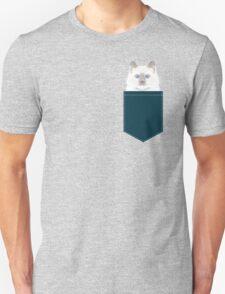 Roxie - White Birman Cat, Cute Kitten, White Cat Blue Eyes, Cell Phone Case, Cat Lady Gift Unisex T-Shirt