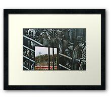Deportation memorial Framed Print