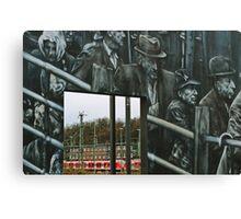 Deportation memorial Canvas Print