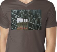 Deportation memorial Mens V-Neck T-Shirt