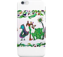 garden sign 1 iPhone Case/Skin