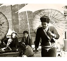 Temple dancers Photographic Print