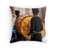 Templedance Throw Pillow
