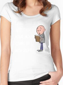 Karl Pilkington - Quote Women's Fitted Scoop T-Shirt