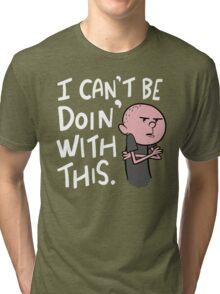 Karl Pilkington - Quote Tri-blend T-Shirt