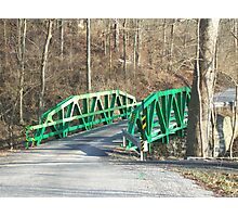 Green Bridge Photographic Print