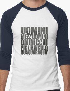 Italian culture Men's Baseball ¾ T-Shirt