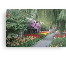 Beautiful Spring Garden Metal Print