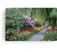 Beautiful Spring Garden Canvas Print