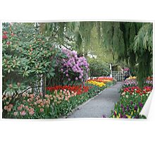 Beautiful Spring Garden Poster