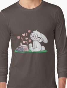Dirty Bunny - Hearts and Exclamation Marks Long Sleeve T-Shirt