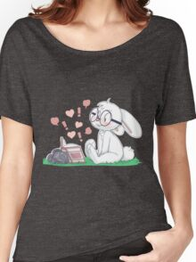 Dirty Bunny - Hearts and Exclamation Marks Women's Relaxed Fit T-Shirt