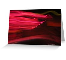 Red Streaks108 views, 7 comments Greeting Card