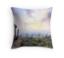 """Out to Sea"" Throw Pillow"