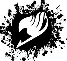 Fairy Tail Logo Ink Version by 11grim