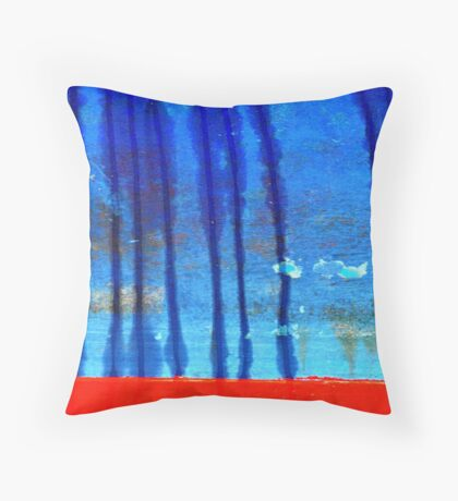 rainfall and dust devils Throw Pillow