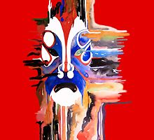 The Mask (red) by theblackdavinci