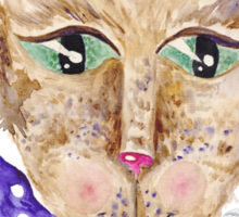 Matrix cat Sticker