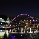 The River Tyne at night {no kidding!} by Onions