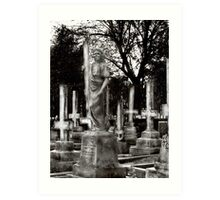wHen cRosSEs sTanD UpsiDe DoWn, nO SAvioUR oN eARth wiLL bE fOUnd. Art Print