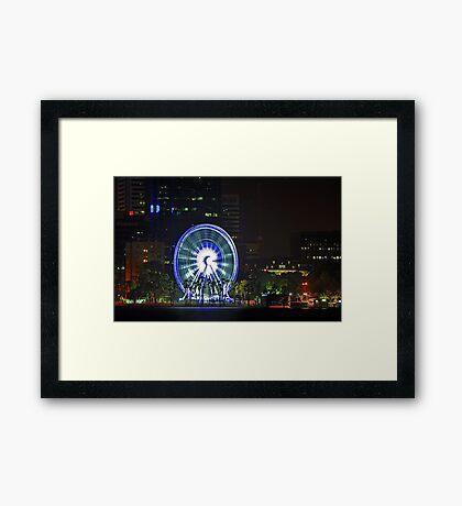Wheel Of Perth  Framed Print